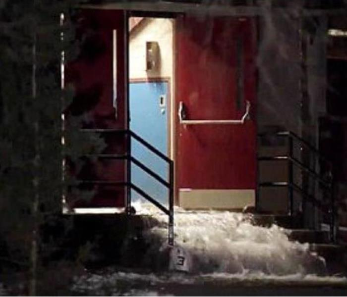 Local HS Flooded with 50 thousand gallons of water