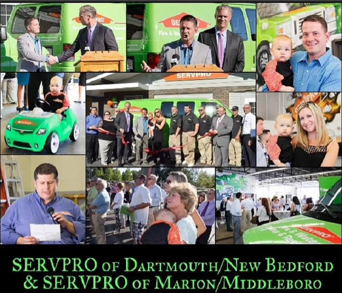 SERVPRO Ribbon Cutting/New Bedford Area Chamber After Hours