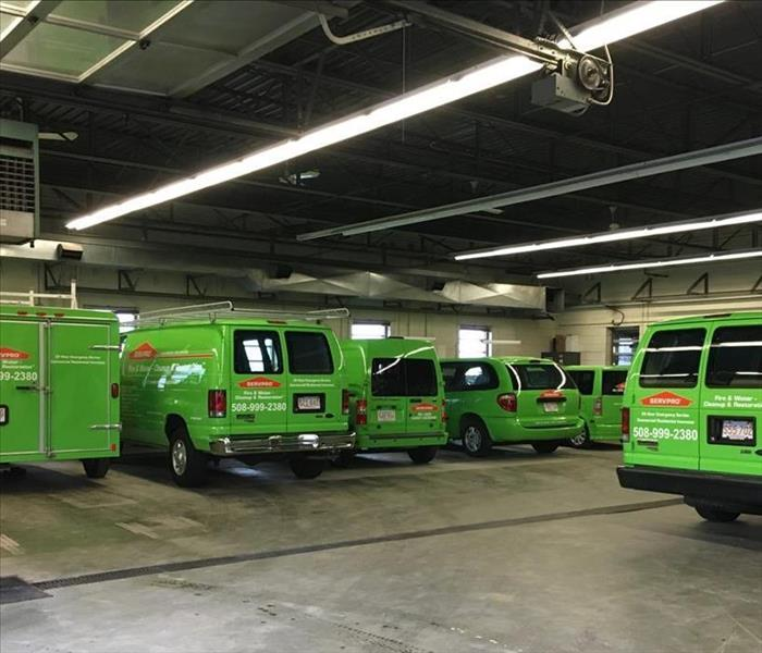 Why SERVPRO Check out Our Fleet!