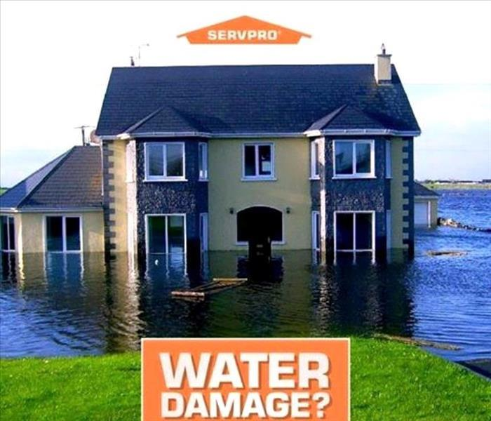 Water Damage SERVPRO provides 24 hour emergency Water Damage Service