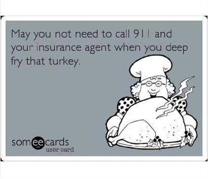 ecard about turkey fires